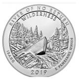 Five Ounce Silver Round: 2019 Idaho #8