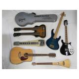 sample pic of some of the guitars