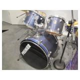 with Saban Pro cymbals>
