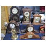 assorted clocks>>