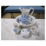 Wheeling Pottery chamber bowl set>