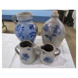 Rowe pottery jug >