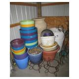 assorted size planters