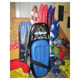 water skis and boards