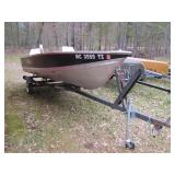 2010 Lund model 14ft aluminum boat>