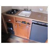 stove, refrigerator, heater>