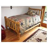 two log matching single beds>>