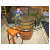 pub stools.....Noah says Hi!
