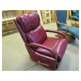 Lazy Boy leather rocker recliner>>