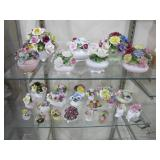 porcelain flower bouquets