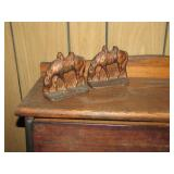 cast iron bookends and>>