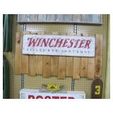 Winchester gun display board