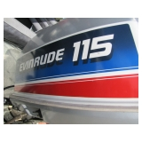 Evinrude 115 hp outboard>>