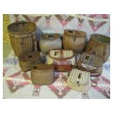 group pic, sample of creels and baskets close ups>>