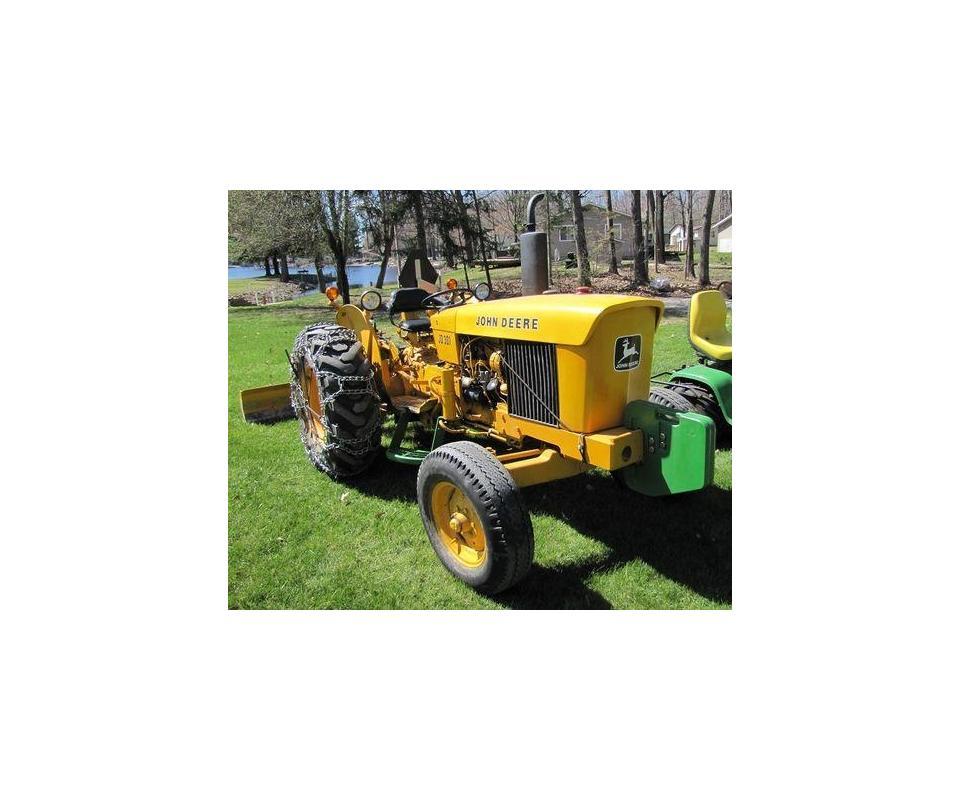 JD Tractors Farm Lawn Equipment Estate AUCTION!