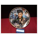 Elvis Presley Musical Plate