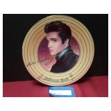 Elvis Presley Solid Gold Plate