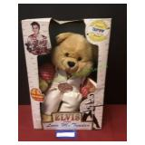 Vintage Elvis Collectible Bears Musical