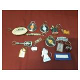 Vintage Lot of Elvis Presley Key Chains