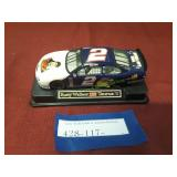 Vintage Elvis Presley Die Cast Car Rusty Wallace