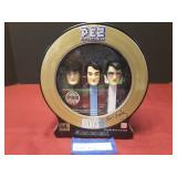 Vintage Tin of Elvis Presley Pez Collectibles