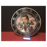 Vintage Elvis Presley Clock