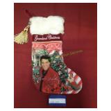 Elvis Presley Graceland Christmas Stocking