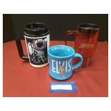 3 Cups Elvis Presley