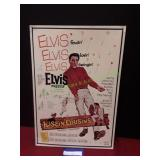 Vintage Metal Elvis Sign