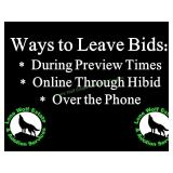 Ways to Leave Bids