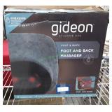 Gideon At-Home-Spa Foot/Back Massager