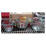 Pyrex 3-Pc Measuring Cup Set 1 Cup, 2 Cup & 4 Cup