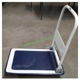 Rolling Flat Cart Blue/White