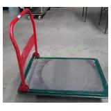 Rolling Flat Cart Red/Green