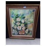 Floral Oil Painting by  J.Hemeltrand