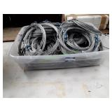 Tote Full of Garage Cables (35 - 40)