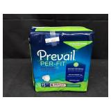 Prevail Per-Fit Daily Briefs 15Ct XL