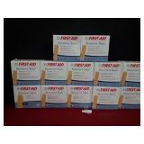 (12) American White Cross Sensitive Skin Band-Aids