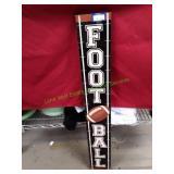 "5""X36"" Wooden Football Sign"