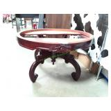 """Round Coffee Table Missing Marble Top 30 1/2""""X18"""""""