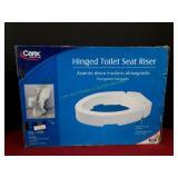 Carex Hinged Toilet Seat Riser