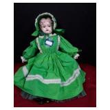 Vintage Porcelain & Cloth Doll