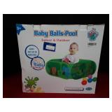 Baby Balls-Pool Easy Set Up 50 Balls Included