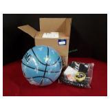 Kuangmi Basketball Size 5 Light Blue