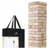 Lavievert Giant Toppling Timbers Wooden Blocks