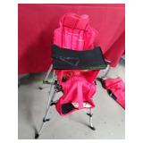 Femstar Outdoor Portable Childs Highchair Red
