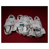 (5) HDX 6Ft Indoor Extension Cords