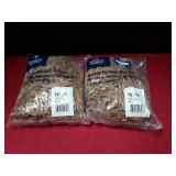 (2) Business Source Quality Rubber Bands 1Lb