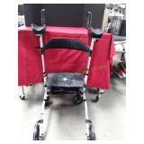 Elenker Upright Walker Rolling Mobility Backrest