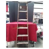 "5-Step 74"" Wooden Ladder"